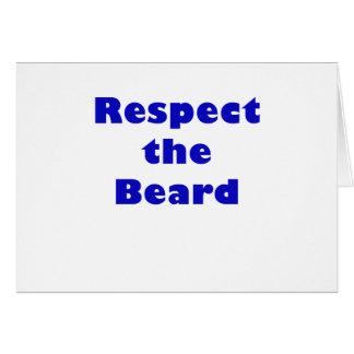 Respect the Beard Card