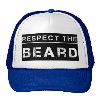 Respect the Beard funny men's hat