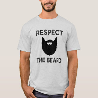 Respect the Beard funny men's shirt