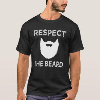 Respect the Beard funny mens shirt