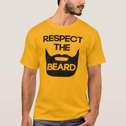 Respect The Beard T_Shirt