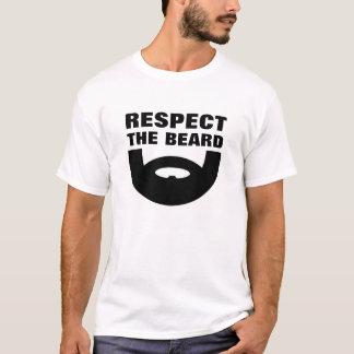 Respect the beard t shirt