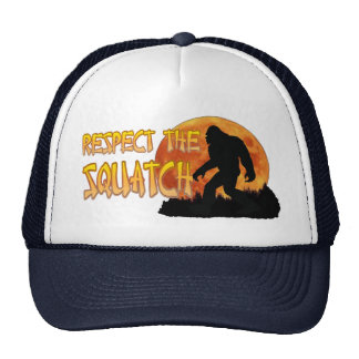 Respect the Bigfoot 2 Trucker Hat