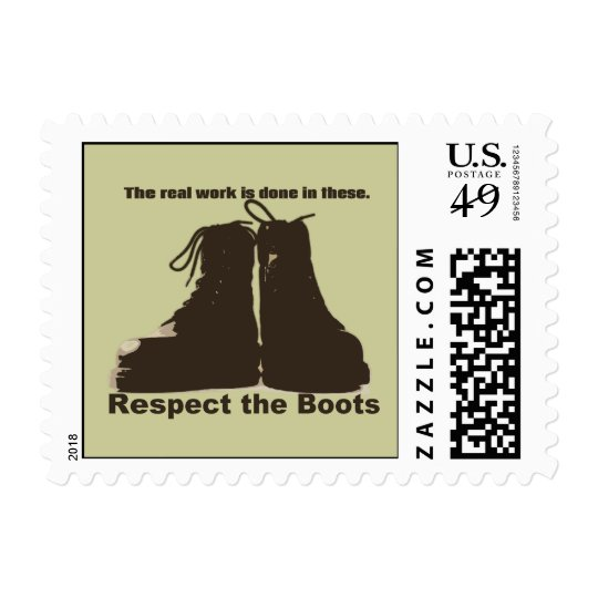 Respect The Boots : What real workers wear. Postage