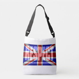Respect the British Flag ENGLAND UK Crossbody Bag