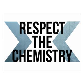 Respect the Chemistry Postcard