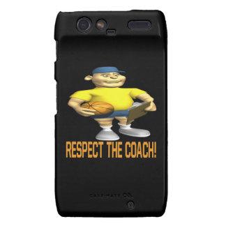 Respect The Coach Droid RAZR Case