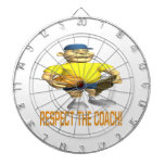 Respect The Coach Dartboard With Darts