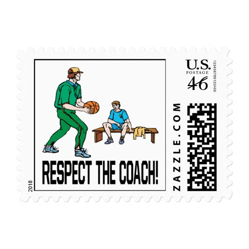 Respect The Coach Stamp