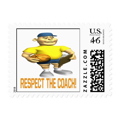 Respect The Coach Stamps