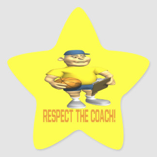 Respect The Coach Star Stickers