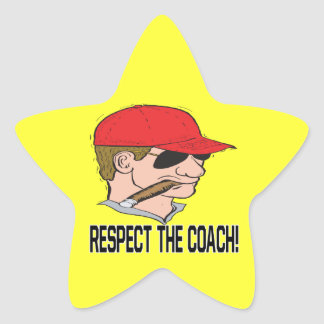 Respect The Coach Stickers