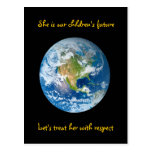 Respect the Earth - Earth Day Postcard
