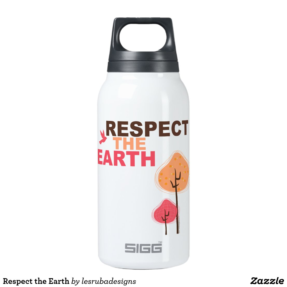 Respect the Earth Insulated Water Bottle