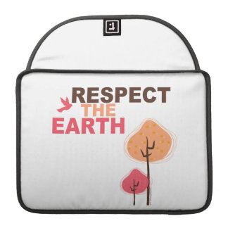 Respect the Earth MacBook Pro Sleeves