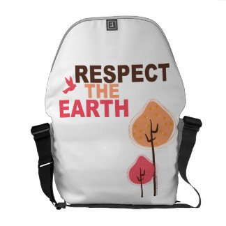 Respect the Earth Commuter Bags