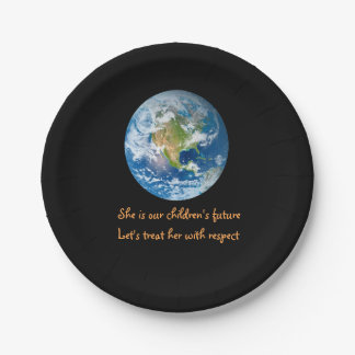 Respect the Earth Paper Plates