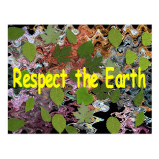 Respect the Earth Postcard