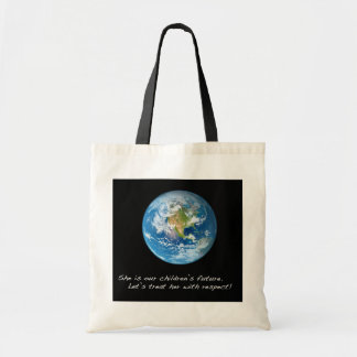 Respect the Earth Tote Bags