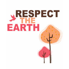 Respect the Earth zazzle_shirt