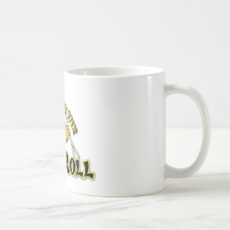 Respect The Egg Roll Classic White Coffee Mug