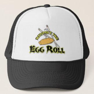 Respect The Egg Roll Trucker Hat