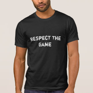 Respect The Game Men's Sport T-shirt