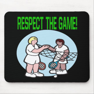 Respect The Game Mouse Pad