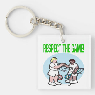 Respect The Game.png Keychain