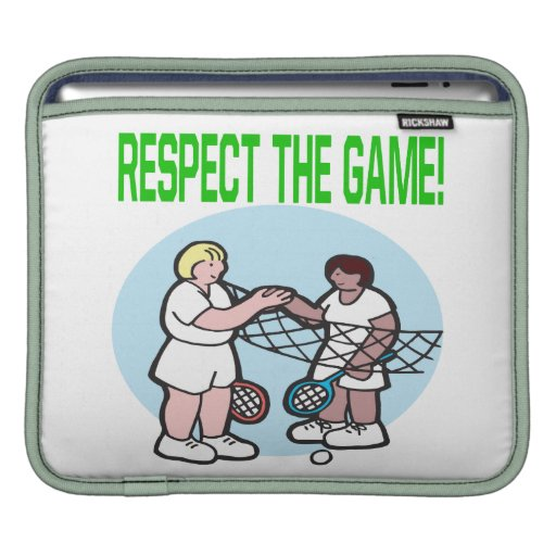 Respect The Game Sleeve For iPads