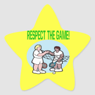 Respect The Game Sticker