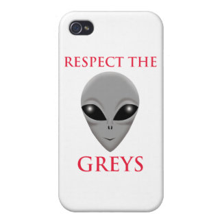 RESPECT THE GREYS iPhone 4 COVER