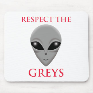 RESPECT THE GREYS MOUSE PAD