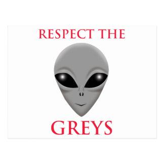 RESPECT THE GREYS POSTCARD