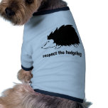 Respect The Hedgehog Pet Clothes