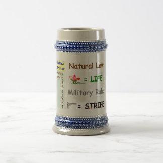 Respect the Law Stein Coffee Mug