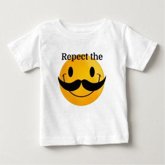 Respect the Moustache Baby T-Shirt