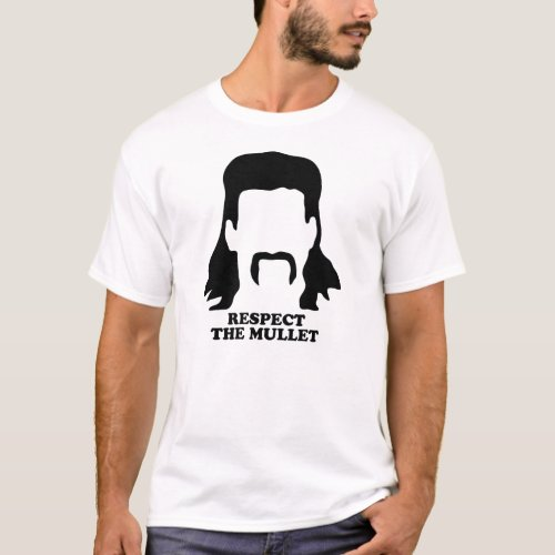 Respect The Mullet T_Shirt