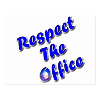 Respect The Office Postcard