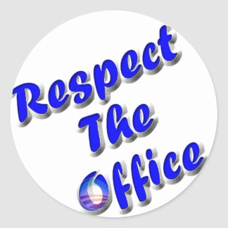 Respect The Office Sticker