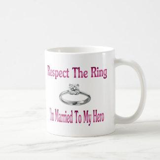 respect the ring 2 coffee mug
