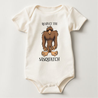 RESPECT THE SASQUATCH BABY BODYSUIT