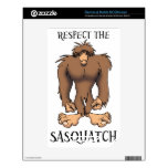 RESPECT THE SASQUATCH DECAL FOR NOOK COLOR