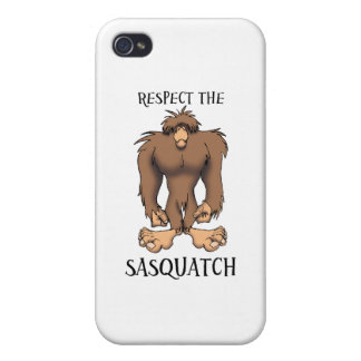 RESPECT THE SASQUATCH iPhone 4/4S COVERS