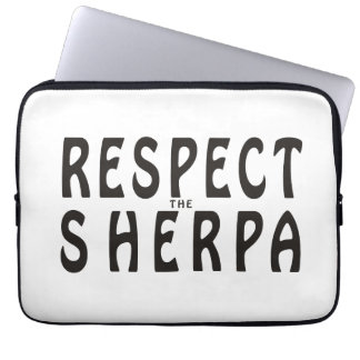 Respect The Sherpa Computer Sleeve