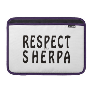 Respect The Sherpa MacBook Sleeve