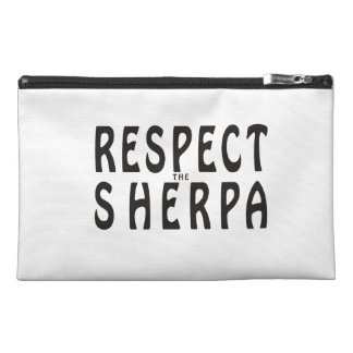 """""""Respect the Sherpa"""" Mountaineering Travel Accessory Bag"""