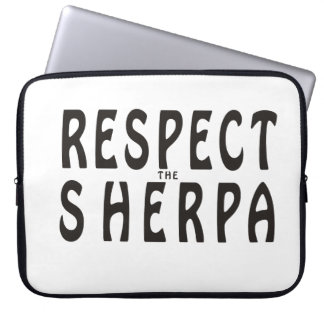 """""""Respect the Sherpa"""" Mountaineering Computer Sleeves"""