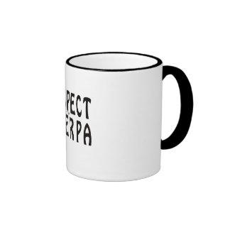 """Respect the Sherpa"" Mountaineering Coffee Mugs"