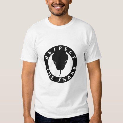 Respect The Snake Basic T T Shirt